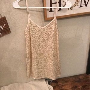Express size small sparkle cami